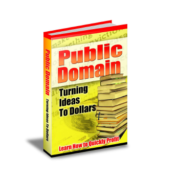Public Domain Turning Ideas To Dollars